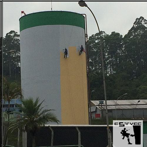 Empresa especializada em pintura em altura