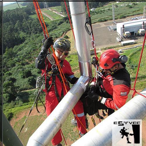 Empresa de serviço de alpinismo industrial