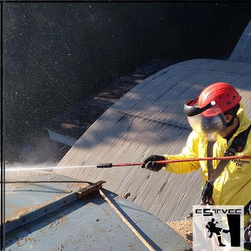 Limpeza de silos