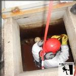 Limpar caixa d'água industrial
